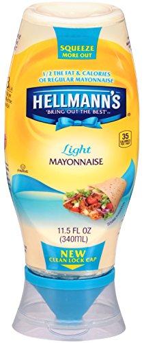 Hellmann's Light Mayonnaise, Squeeze 11.5 oz