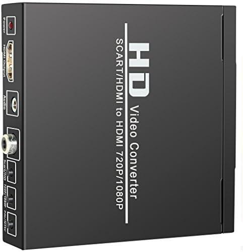 ELEPHAS SCART + HDMI to HDMI Converter