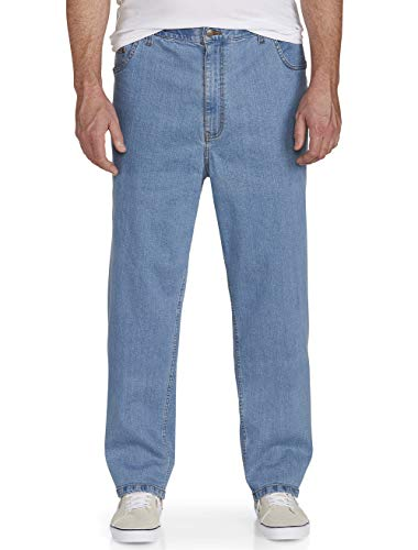 Harbor Bay by DXL Big and Tall Continuous Comfort Stretch Jeans ()