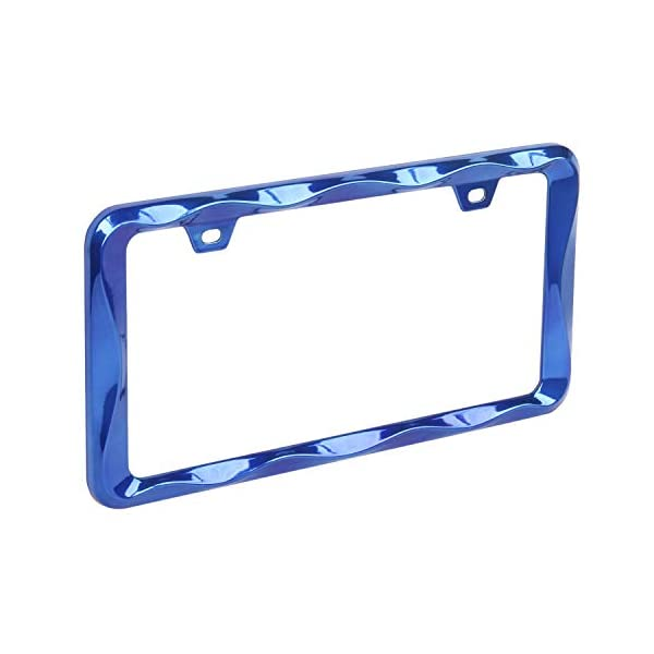 Blue-License-Plate-Frame