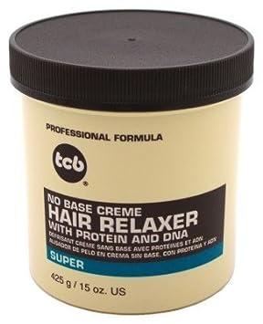 Tcb Hair Relaxer No Base Creme 15oz. Super Jar 815155