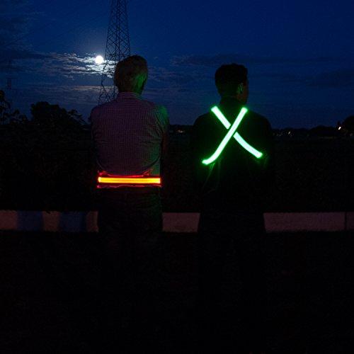 High visibility LED belt