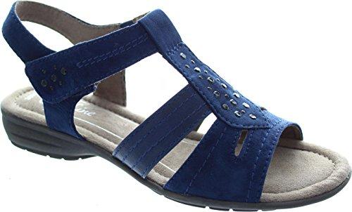 Softline 8-8-28163-26-805 - Sandalias de vestir para mujer Azul - 805NAVY