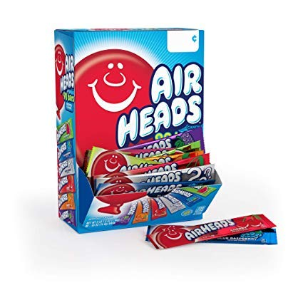 Airheads Bars, Chewy Fruit Candy, Easter Basket Stuffers,