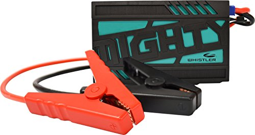 Whistler WJS-3500 MIGHTY Portable Lithium Jump Starter: 200 Starting Amps/400 Peak Amps (Strobe Led System Professional)