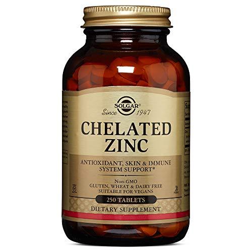 Solgar - Chelated Zinc, 250 Tablets ()