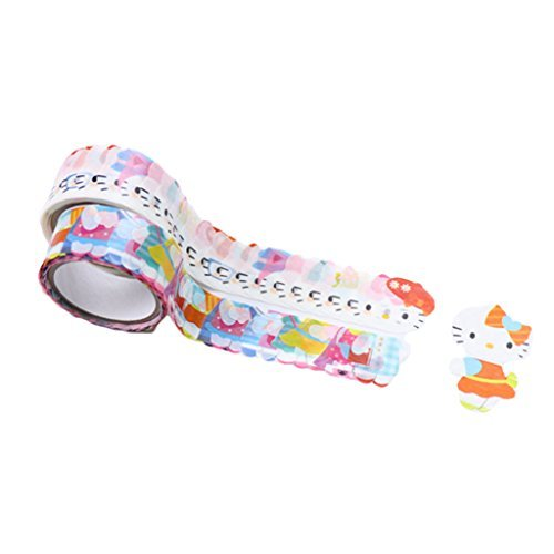 Bande Masking Roll Sticker Masking Tape - Hello Kitty - Cute - for Scrapbooking DIY (CMR006)