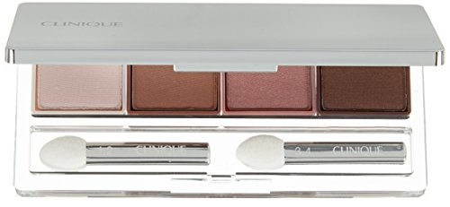 Clinique All About Shadow Quad Eye Shadow for Women, Pink Chocolate, 0.16 (Eyeshadows Clinique)