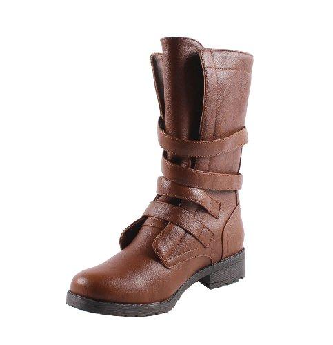 Bonnibel Kvinnor Rio-4 Stövlar Konjak 10
