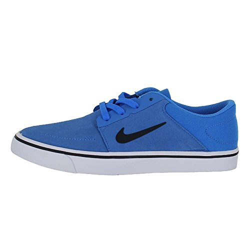 Nike Kids SB Portmore (GS) Photo Blue White Black Size 6.5