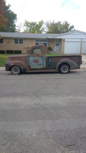 1946 Ford Truck on an S-10 Frame for sale  Delivered anywhere in USA