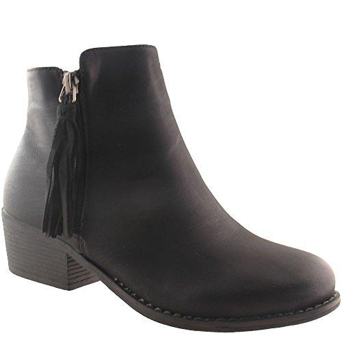 Kayla Women's Chelsea Boots Black uzk2P12Flz