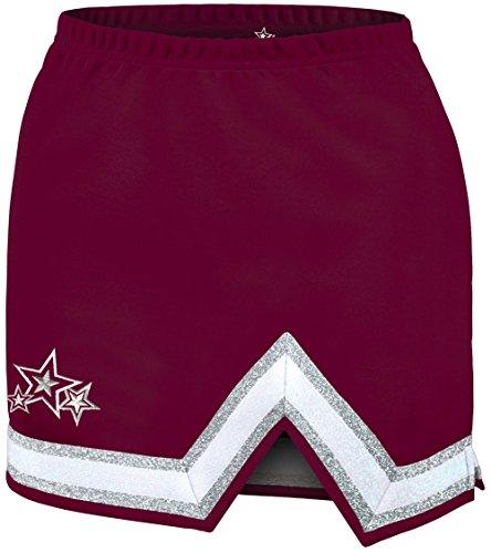 Extension Cheerleading Uniform Skirt - Maroon Youth