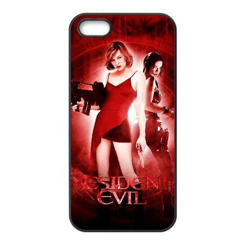 O3U82 Resident Evil Haute Résolution Affiche N8G3RT coque iPhone 5 5s cellule de cas de téléphone couvercle coque noire SE4BYZ7YK