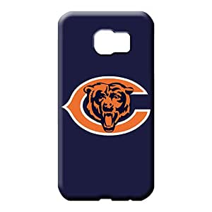 samsung galaxy s6 Appearance Style Forever Collectibles cell phone shells chicago bears logo