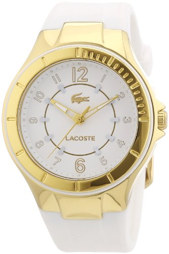 Lacoste Ladies Acapulco White Rubber Watch 2000756