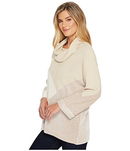 NIC+ZOE Women's Linear Cozy Top, Multi, XL by NIC+ZOE (Image #2)