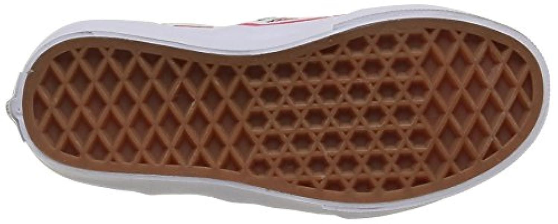 Vans Classic Slip-On, Unisex Kids' Low-Top Sneakers, White (strawberries/true White), 1 UK (32 EU)