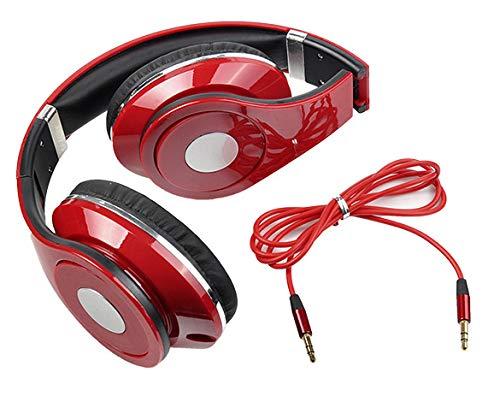 IEnkidu Adjustable Over-Ear Earphone Headphone 3.5mm for iPod/ MP3/ MP4/ PC/iPhone Music (White)