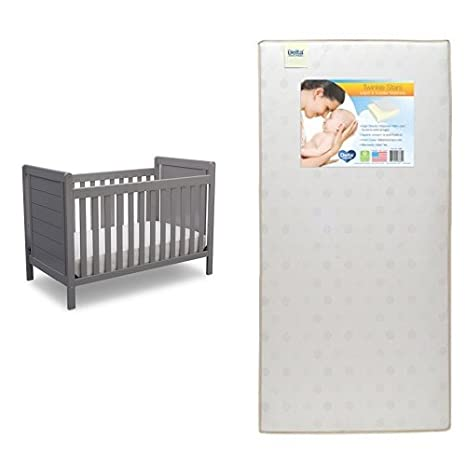 Delta Children Sunnyvale 4-in-1 Convertible Baby Crib, Bianca White 530150-130