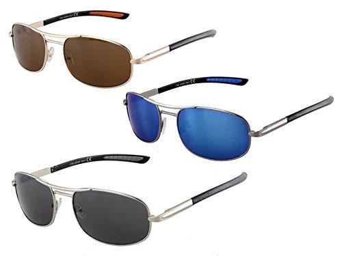 Lote 6 - Sport gafas de sol Black Label 1100 colores variados - Calidad COOLMINIPRIX®