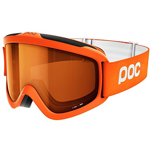 POC Iris X Ski Goggles, Zink Orange, Medium