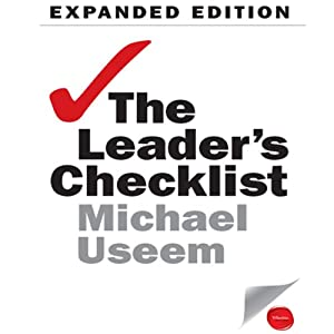 The Leader's Checklist Expanded Edition Audiobook