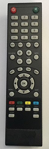 Compatible New REMOTE CONTROL FOR SEIKI LCD / LED TV FOR 19