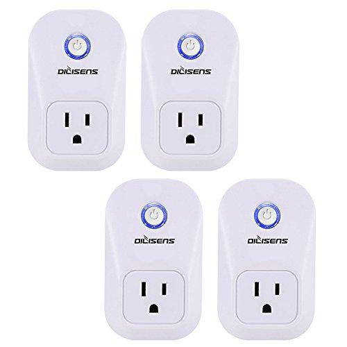 Smart Plug Alexa Socket Outlet DILISENS Wireless Smart Switch (Large Image)
