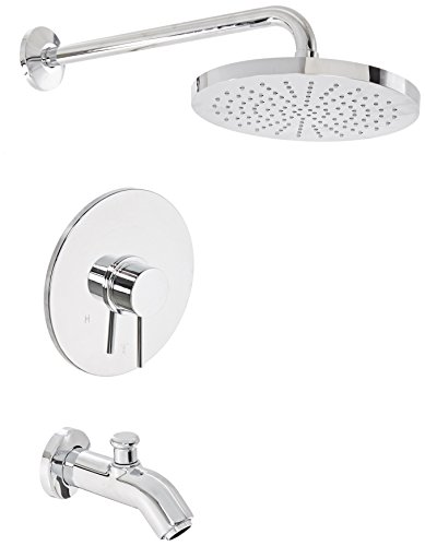 Pressure Balance Shower Set (La Toscana 78CR697 Elba Single-Handle Pressure Balance Tub/Shower Faucet, Chrome)