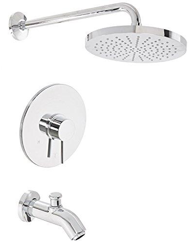 La Toscana 78CR697 Elba Single-Handle Pressure Balance Tub/Shower Faucet, Chrome