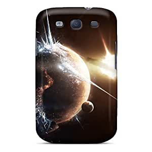 Excellent Galaxy S3 Case Tpu Cover Back Skin Protector Space Art