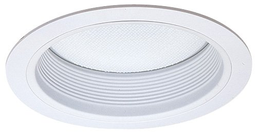 Elco Lighting ELM412W Baffle with Reflector and Regressed Albalite Lens - ELM412 ()