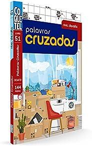 Livro Coquetel Palavras cruzadas Desafio ed 51