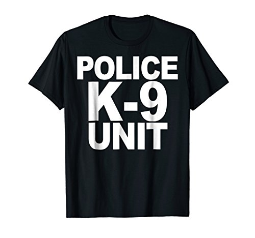 Police K-9 Unit Shirt Front Print Law Enforcement ()
