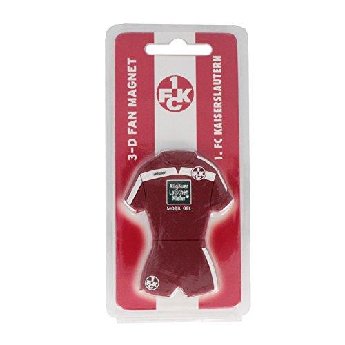 FC Klautern 3D Magnet Trikot Diverse 1 rot