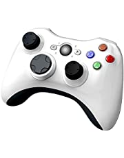 $35 » YCCSKY Xbox 360 Wireless Controller, 2.4GHZ Xbox Game Controller Wireless Remote 360 Controller Gamepad Joystick for Microsoft Xbox 360 Slim and PC with Windows 7/8/10 (Not for Xbox One), White