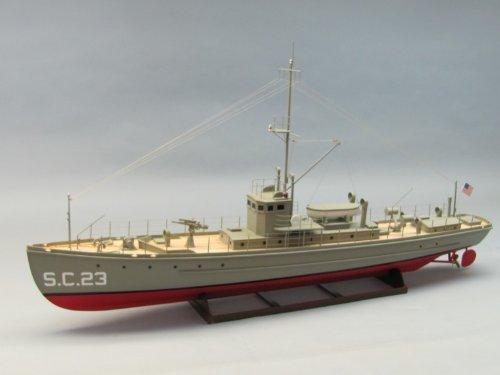 "SCI Class Sub-Chaser Boat Kit 37-1/2"" 1/35 Dumas"