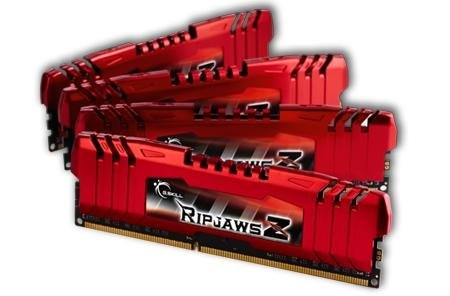 G.SKILL Ripjaws X Series 16GB (4 x 4GB) 240-Pin DDR3 SDRAM DDR3 1600 (PC3 12800) Desktop Memory Model F3-12800CL9Q-16GBXL