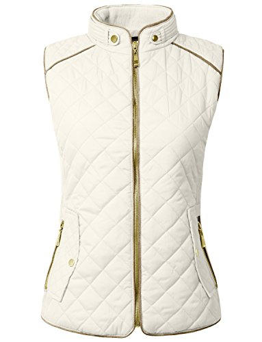 Quilted Side Zip Vest - 9