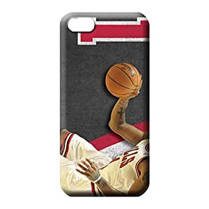 iphone 6plus 6p Shock Absorbing Plastic Hot Fashion Design Cases Covers cell phone carrying shells chicago bulls nba basketball