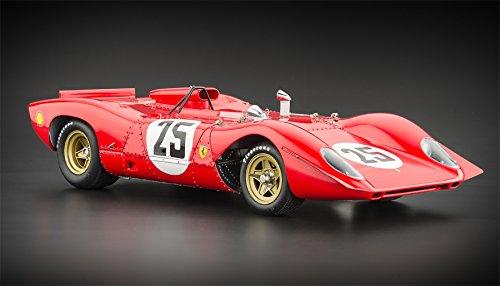 Ferrari 312P Spyder Sebring 1969 Mario Andretti CMC 1:18th