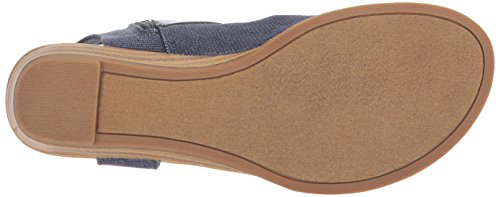 M Birch Sandal B Balla Rancher Pu Canvas Wedge Blowfish Women's Mushroom US Indigo 6 Dyecut P7nIqxw5g
