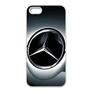 DASHUJUA Benz sign fashion cell phone case for iPhone 5S