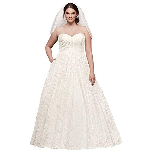 9wg3829 Dell'innamorato Il Avorio Più Sposa Stile Merletto Bridal David Da Abito Dimensioni Pallone Di Abito TgqZPw5