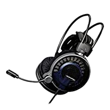 Audio-Technica ATHADG1X Open-Air Gaming Headset, Black