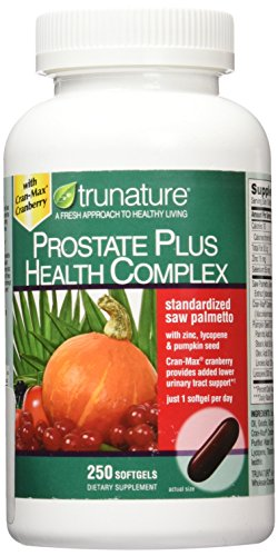 Trunature Saw Palmetto Prostate Health Complex with Zinc, Lycopene, Pumpkin Seed, 1.8 Pound (Best Saw Palmetto For Prostate)