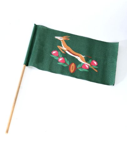 Original Movie Prop - Invictus - Small Springbok Flag - Authentic from PropStore