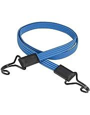 Master Lock 3226EURDAT Cinghia Elastica con Ganci [Cavo 120 cm] [Gancio Invertito] - Ideale per Giardinaggio, Trasporto, Trasloco, Campeggio