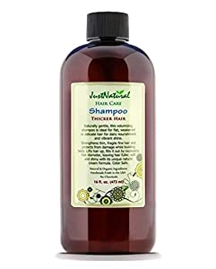 Thicker Hair Shampoo by Just Natural Product